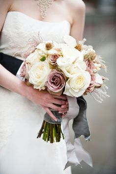 Photography : Laurel McConnell Photography   Floral Design : Bella Signature Design   Wedding Coordination : Holly-Kate and Company Read More on SMP: http://www.stylemepretty.com/2012/04/25/seattle-wedding-at-sodo-park-by-laurel-mcconnell-photography/