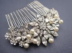 1. Something Vintage. Hair piece   #wedding #modcloth