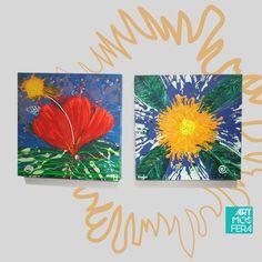 ¡Un Hogar sin decoración es un hogar incompleto! Dale vida, ritmo y color con #artmosfera // A free home decor is an incomplete home! Put life, rhythm and color with #artmosfera #domingodearte