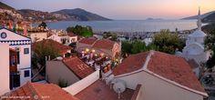 Things to do in Kalkan Turkey and travel from Oludeniz and Fethiye to Kalkan resort. Kalkan Turkey, Best Vacation Destinations, Antalya, Luxury Travel, Travel Style, Travel Ideas, Adventure Travel, Places To See, Paris Skyline