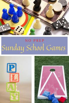 Here you will find a bunch of No-prep Sunday School Games! Because let's face it, we all run into those days when we run out of time more often than we'd like to admit. Four Corners Game, Kids Church Games, Childrens Ministry Deals, Sunday School Games, Worship Songs, Kids Writing, All The Way Down, Time Out, 4 Kids