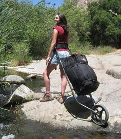 Hiking Trailer or Hiking Trolley