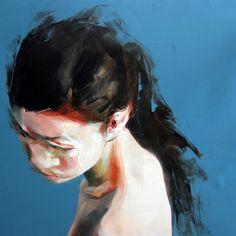 "Saatchi Online Artist: Simon Birch; Oil, Painting ""Snowblind"""