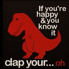 That Awkward Moment When you dont have arms long enough to clap. Sorry. Visit Waverider @ www.waveridermp3.com #funny dinosaur #humor #brainwave
