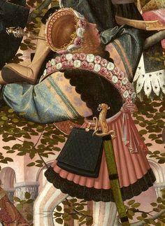 Attributed to Geertgen tot Sint Jans (ca. Attributed to Jan Mostaert (circa The Tree of Jesse, c. 1500 oil on panel, h × w Museum Boijmans Van Beuningen, Rotterdam Tree Of Jesse, Medieval Manuscript, Circlet, Renaissance Art, 15th Century, Figure Painting, Crowns, Rain, Paintings