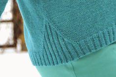 No pattern Sweater Knitting Patterns, Knitting Designs, Knitting Yarn, Knit Patterns, Hand Knitting, Crochet Clothes, Pulls, Knitwear, Knit Crochet