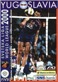 2000 World League Intercontinental Round poster.