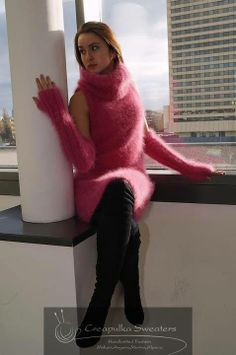 Pink Fuzzy Sweater