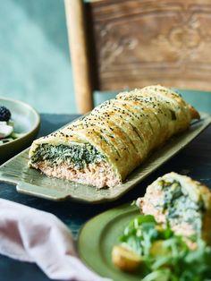 Greek Recipes, Italian Recipes, Fresh Rolls, Healthy Recipes, Healthy Food, Fish, Dinner, Cooking, Ethnic Recipes