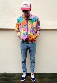 Vintage Shell Suit Jacket