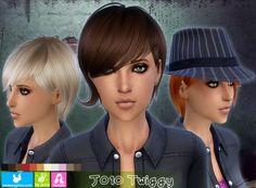 NewSea: J010 Twiggy • Sims 4 Downloads