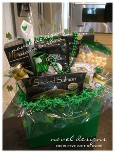 Tastes of texas gift basket central market gift ideas celebrate st pattys day custom designed gift baskets for everyday occasions and corporate events solutioingenieria Gallery