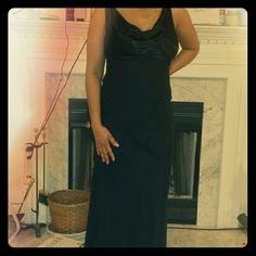 Long strapless dress. Black strapless 100% polyester bottom with satin /rayon top and lining. teeze me Dresses Maxi