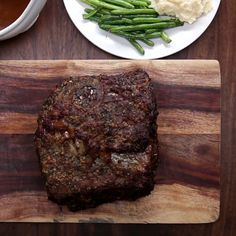 Tasty — Prime Rib With Garlic Herb Butter by Tasty Full...