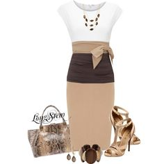 A fashion look from March 2014 featuring Paule Ka tops, Dorothy Perkins skirts y L.A.M.B. sandals. Browse and shop related looks.