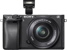 Popular on Best Buy : Sony - Alpha 6300 Mirrorless Camera with E PZ 16-50 mm F3.5-5.6 OSS Lens