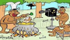 Auch Neuguinea TV sendet seit kurzem Kochshows - demnächst bei RTL und Co. - mit namhaften Sternekochs