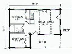 The Roosevelt Log Cabin Plan