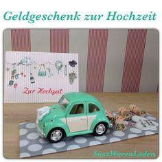 Geldgeschenke - Hochzeitsauto - Geldgeschenk zur Hochzeit - ein Designerstück von SuessWarenLaden bei DaWanda