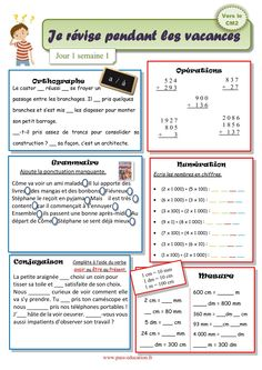Cycle 3, Learning, School, Blog, Kids, Delaware, Learn French, Activities For Kids, French Nails