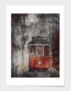 Red Tram main illustration