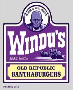 Windu's Home of the Old Republic Banthaburgers!