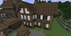 Minecraft Town Minecraft Building Ideas For a Town Minecraft Town Building Ideas Town building Minecraft building Building