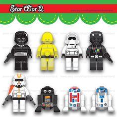 star wars lego digital clipart by icemiloclipart on etsy 5 00 rh pinterest com lego star wars clipart lego star wars clipart