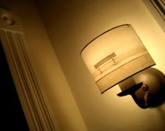 Making lampshades with photographs