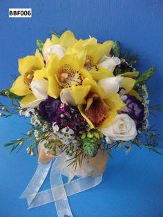 #Cymbidium #orchid #rose #bouquet #bridal #lovely #wedding