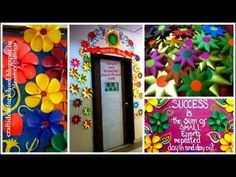 Art ,Craft ideas and bulletin boards for elementary schools: Simple and Beautiful Paper flower craft