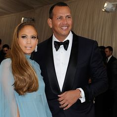 TOM FORD — Alex Rodriguez wore a TOM FORD navy tuxedo to the...