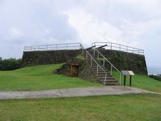 Fort Santa Agueda, built in 1800 is the only surviving Spanish fort in Hagåtña, sits atop Apugan Hill on the western coast of Guam.