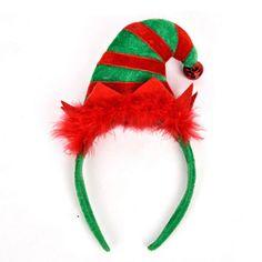 EE/_ REINDEER ANTLERS HEADBAND HEADWEAR HAIR HOOP CHRISTMAS COSPLAY PARTY DECOR N
