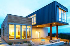 Modern Prefab-uluos Cloverdale Home in Sonoma Valley Built in Just 4 Months: http://bit.ly/1nbIqI3