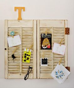 Dump A Day Crafty Ideas For Old Window Shutters (21 Pics)