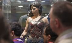 """Behold Ben Affleck's Batsuit -- both of them. Last night San Diego Comic-Con put the costumes from their next big superhero flick """"Batman v Superman: Dawn of Justice"""" out for all of Comic-Con to see. And there was quite a lot to take in, especially Wonder Woman's whole new getup with some original comic book touchstones, like the lasso of truth."""