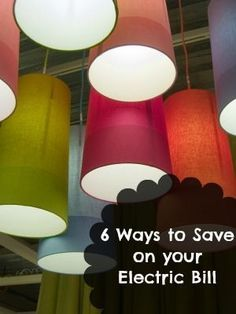 6 Ways to Save Money on Your Electric Bill | Frugal Living Tips Frugal Living Ideas Frugal Living Tips #frugal
