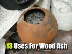 13 Uses For Wood Ash - SHTF, Emergency Preparedness, Survival Prepping, Homesteading