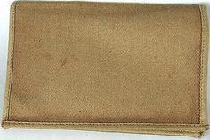 Vintage Military Cloth Wallet Army New Old Stock WWII Korean Vietnam War Era ? 1