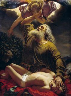 Abraham i Izaac.