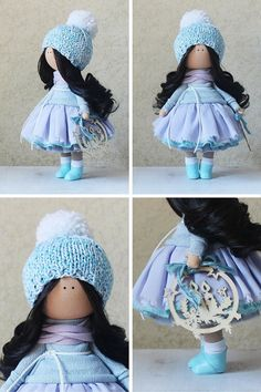 Handmade doll toy Tilda doll Rag doll Art от AnnKirillartPlace