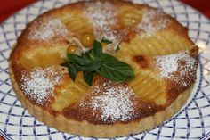 Tarte Amandine Aux Poires - YouTube French Deserts, French Pastries, Camembert Cheese, Tea Time, Pie, Dishes, Creme, Desserts, Food