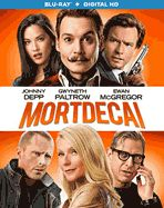 Mortdecai. Also available in Blu-Ray! Charlie Mortdecai races to recover a stolen painting rumored to contain a code that leads to lost Nazi gold. Meanwhile he is being chased by several angry groups of people.