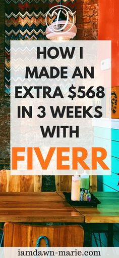 How i made an extra $568 in 3 weeks with Fiverr #makemoneyonline #makemoneyfromhome #fiverrtips