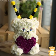 Toys Made of Fresh Flowers