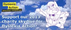 Support our fundraising skydive! www.Sponsor.WeAreBlink.com
