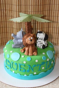 jungle theme baby shower cakes | Cakes By Lee: Safari Baby Shower