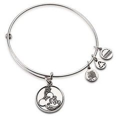 Disney Alex And Ani Bracelet Minnie Mouse Silver