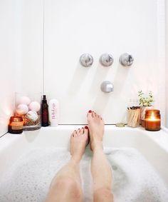 dream bath setup.
